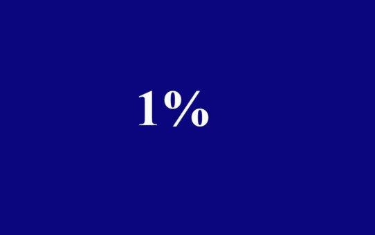 1 százalék